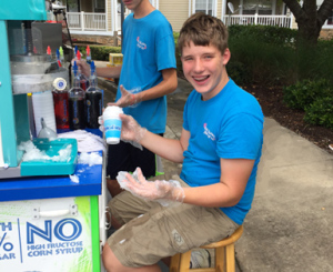 Shave Ice Durham Pool Party